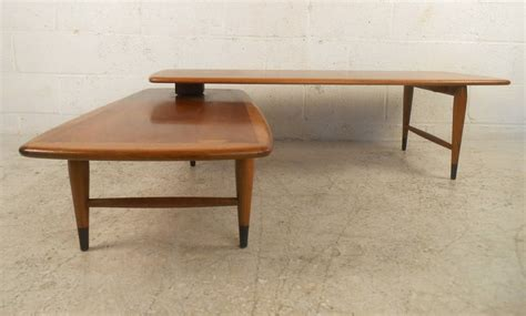 expandable coffee table mid century modern expanding coffee table by lane for sale