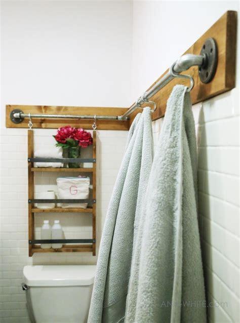 Bathroom Towel Rack Plans 25 Best Ideas About Industrial Towel Bars On