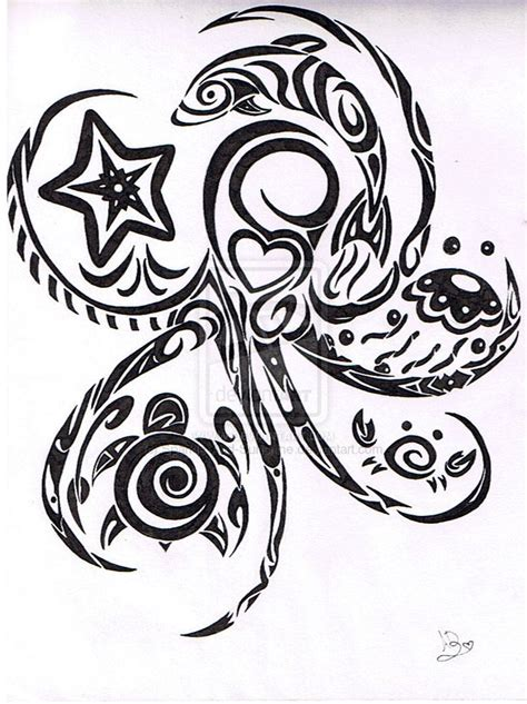 tribal ocean tattoo 25 best ideas about tattoos on sea