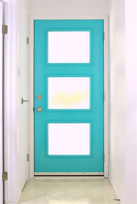 modern front door decor 17 best ideas about aqua front doors on pinterest aqua