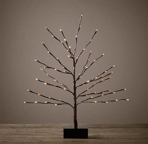 restoration hardware tree garland starlit tree 2 from restoration hardware eclectic decor barking f c