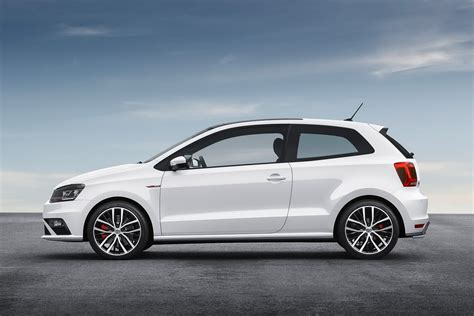 volkswagen polo 2015 white 2015 vw polo gti facelift gets new 190ps 1 8l turbo and