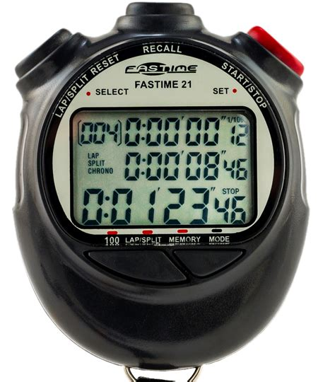 Stopwattch Toto 10 Memory stopwatch with 100 memory fastime 21