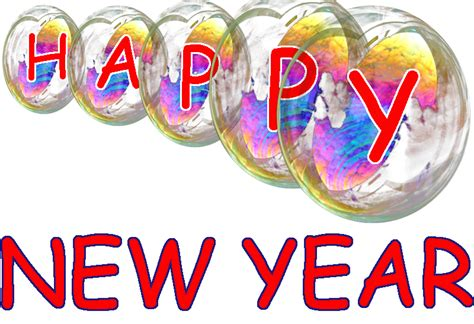 new year png happy new year transparent bubbles