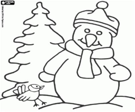 dibujos de navidad para colorear muñecos de nieve juegos de mu 241 ecos de nieve para colorear imprimir y pintar