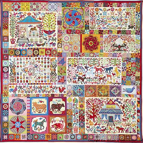 Glorious Patchwork - pandemonium from glorious color kaffe fassett collective