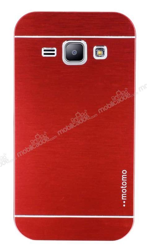 Motomo Samsung J1 motomo samsung galaxy j1 metal kırmızı rubber kılıf