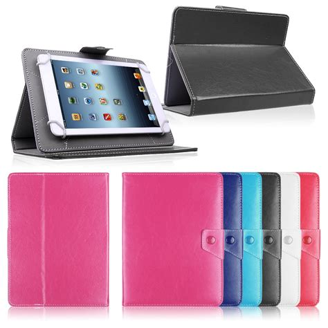 Cover Tablet 10 Inch universal 7 quot 8 quot 9 quot 10 quot 10 1 inch leather cover stand for android tablet pc ebay