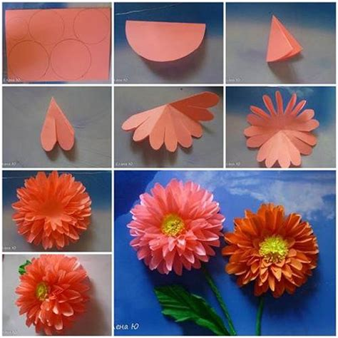 Folded Paper Flowers - 40 origami flowers you can do and design