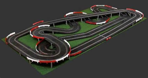 ho slot car layout design software ninco master track layout kit slot cars pinterest