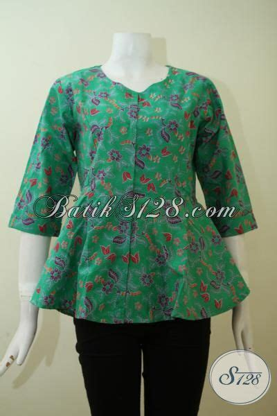 Eyeshadow Untuk Baju Hijau baju batik print warna hijau motif keren baju blus