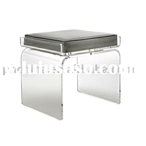 clear plastic vanity chair clear acrylic swivel icicle bar stool with leatherette