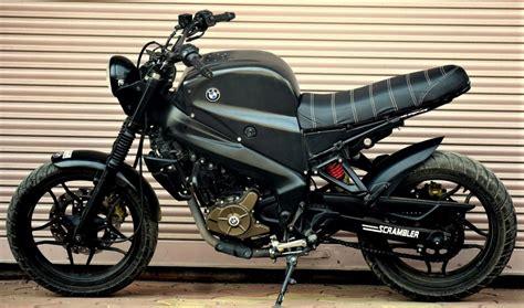 indonesia this modified bajaj pulsar 200 ns scrambler induces serious bajaj pulsar ns200 scrambler by motorland customs