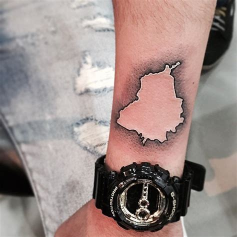 punjab map tattoo these 62 map tattoos will give you