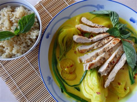 Coconut Detox And Candida by Grilled Chicken With Bok Choy In Coconut Milk 187 The