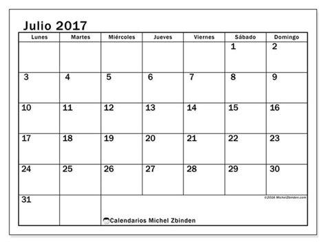 Calendario Julio 25 Best Ideas About Calendario Julio On