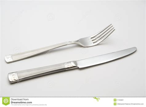 kitchen forks and knives knife and fork stock image image 1745901