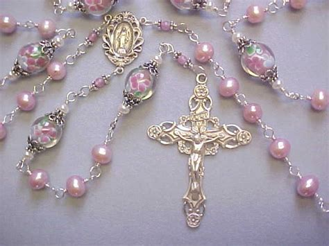 Handmade Rosaries From Roses - pin by schafer on religious
