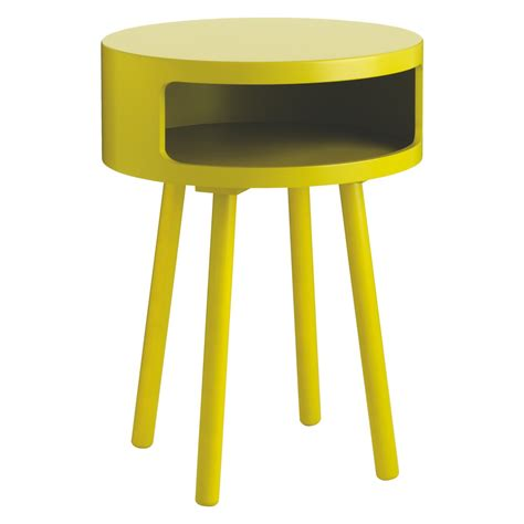 Yellow Bedside Table Bumble Yellow Side Table Buy Now At Habitat Uk