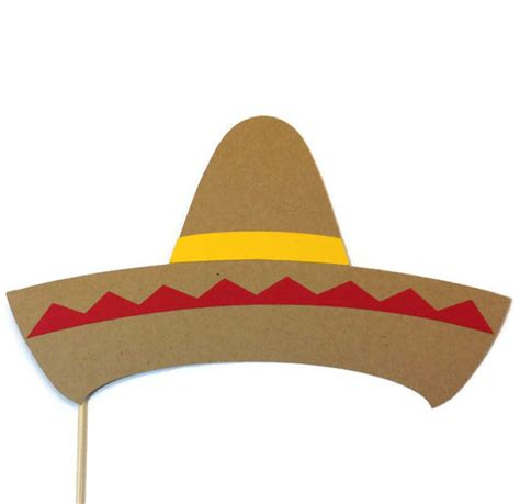 cinco de mayo printable photo booth props photo booth props cinco de mayo prop sombrero photo
