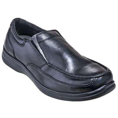 florsheim shoes s fs208 black esd steel toe slip on