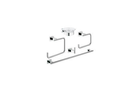 grohe accessori bagno grohe essentials cube new set accessori bagno 40758001