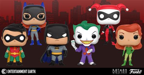 Funko Pop Heroes Batman The Animated Series Harley Quinn 156 batman the animated series pop vinyl figures actionfiguresdaily
