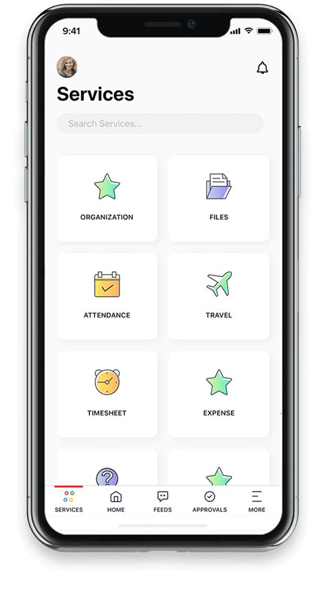 mobile human resources human resource app for iphone android hrms mobile app