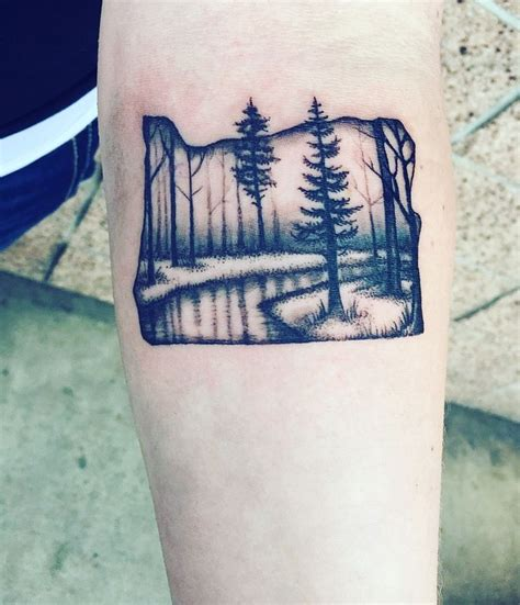 oregon tattoos oregon trees i m in with this i