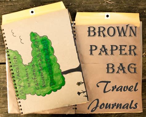 Brown Paper Bag Crafts - craft knife all my at crafting a green world