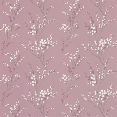 pussy curtains pussy willow grape floral wallpaper combine with purple
