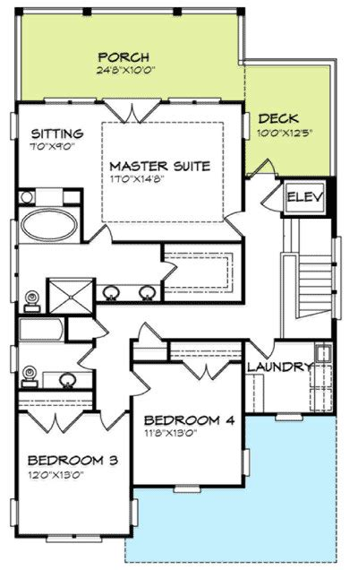 inverted house plans inverted house plan or low country plan