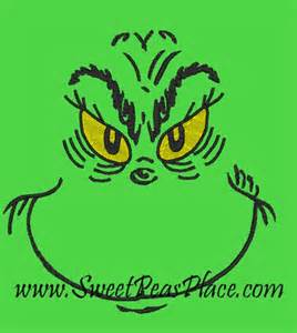 grinch embroidery design embroidery designs