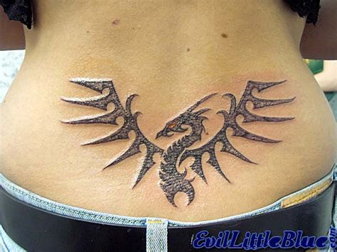tribal tattoo on lower back free lower back designs lawas
