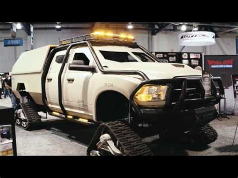 fast ram quot ram quot custom dodge ram with a track system fast and