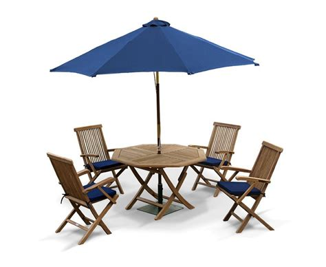 Patio Table Chairs Outdoor Foldable Table And Arm Chairs Patio Garden Dining Set