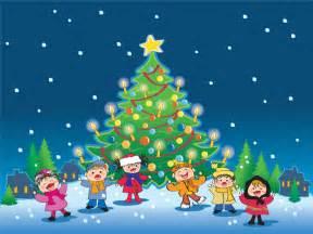 kids christmas cartoon hq wallpaper
