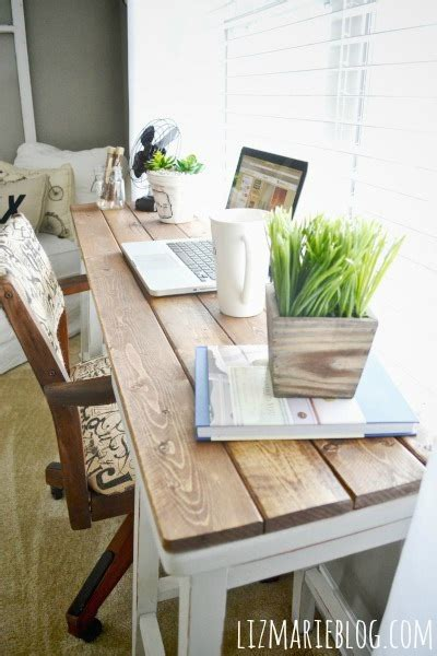 diy barstool desk