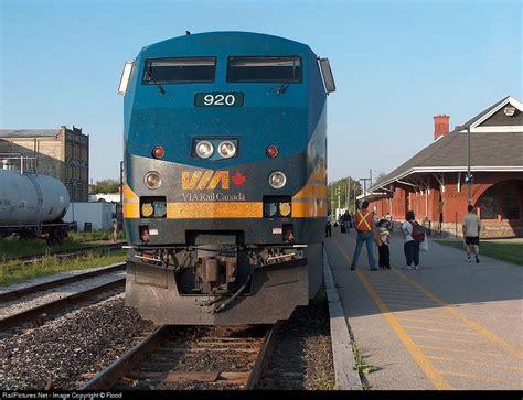 Via Rail Kitchener by Locomotive Details