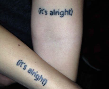 the 1975 tattoo these the 1975 fan tattoos are so beautiful yet so unaware