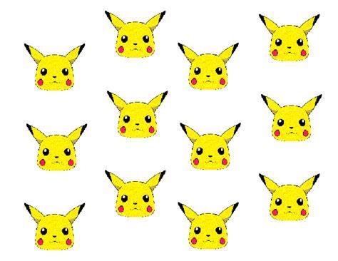 pikachu template pikachu roll cake template baking templates