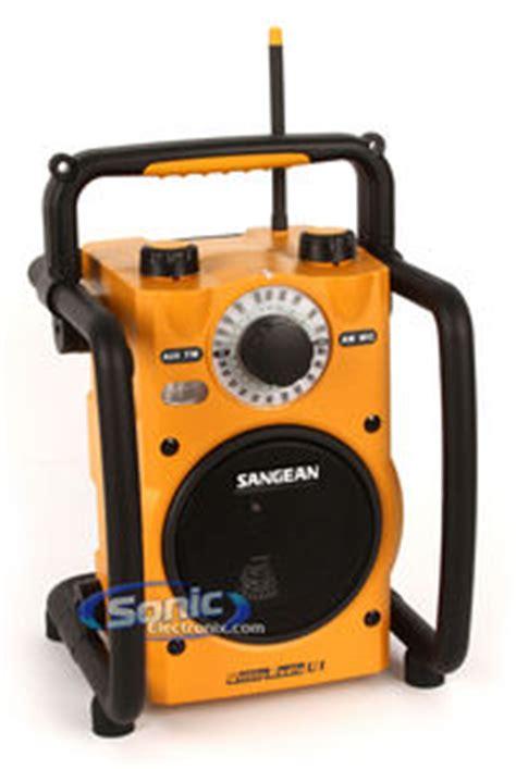 sangean   rugged weather resistant amfm portable radio