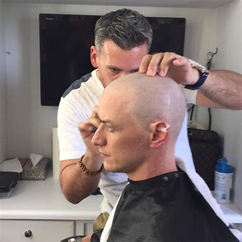 The Bald Headed Club Bigger Than You Might Think by Mcavoy Just His To Play Charles Xavier