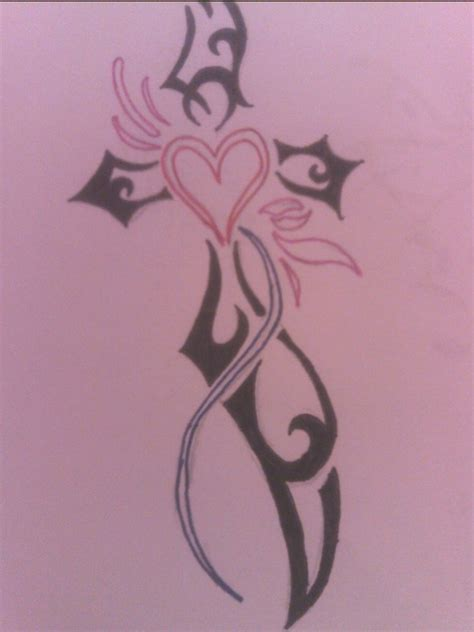 cross my heart tattoo cross and tattoos images