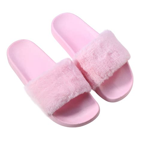 accesorize slippers yehwang accessories slippers fur