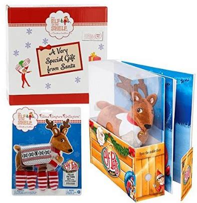 elf on the shelf reindeer printable elf on the shelf book set reindeer only 29 95 reg 34 98