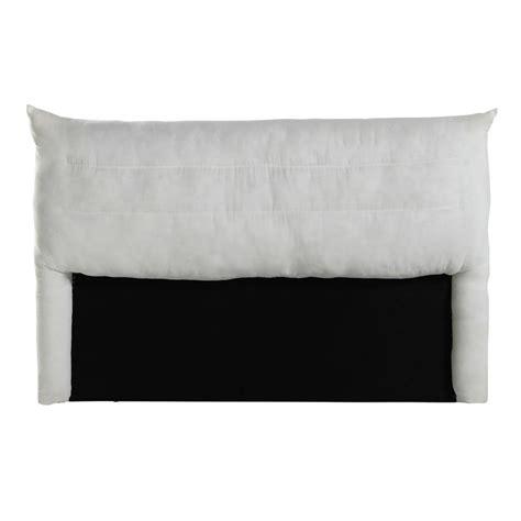 testata letto maison du monde testata da letto sfoderabile in legno 140 cm soft