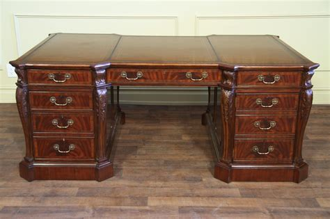 leather top desk rooms