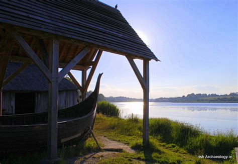 viking boat house a viking midsummer s night irish archaeology