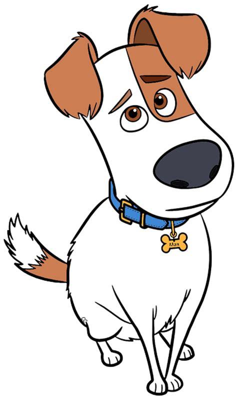 clipart max the secret life of pets clip art cartoon clip art